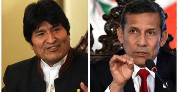 Evo Morales y Ollanta Humala viajan hoy a Ecuador para visitar las zonas afectadas por el sismo.