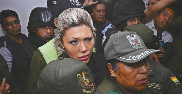 Zapata sorprendió ayer, dijo que tenía un tercer hijo. Solicitó el traslado a otro penal. Se siente insegura