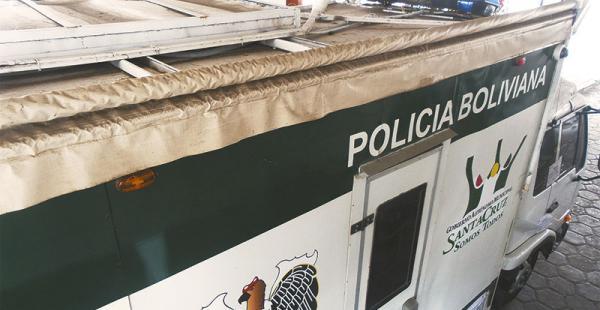 en exterminal de buses desde el 9 de marzo el centro de monitoreo  está precintado La parte del techo, que es de cartón prensado, ya empieza a mostrar deterioro debido al tiempo