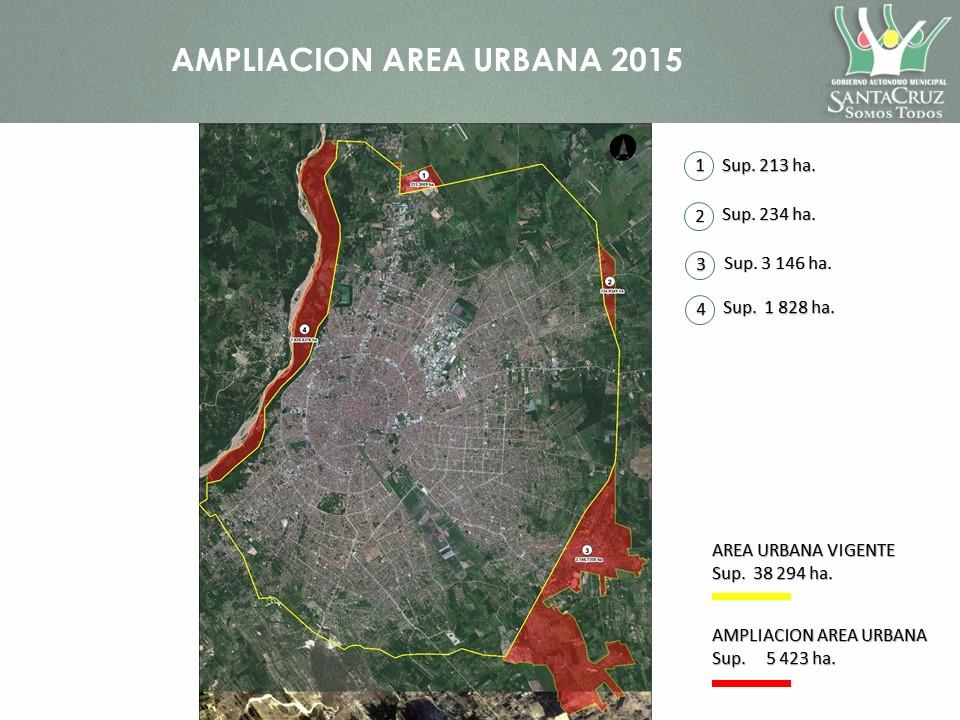 Imagen ampliación radio urbano 2015