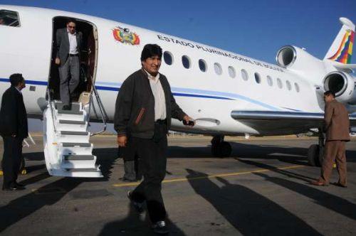 En 10 años Evo Morales realizó 4.624 viajes al interior y 178 viajes al exterior del país