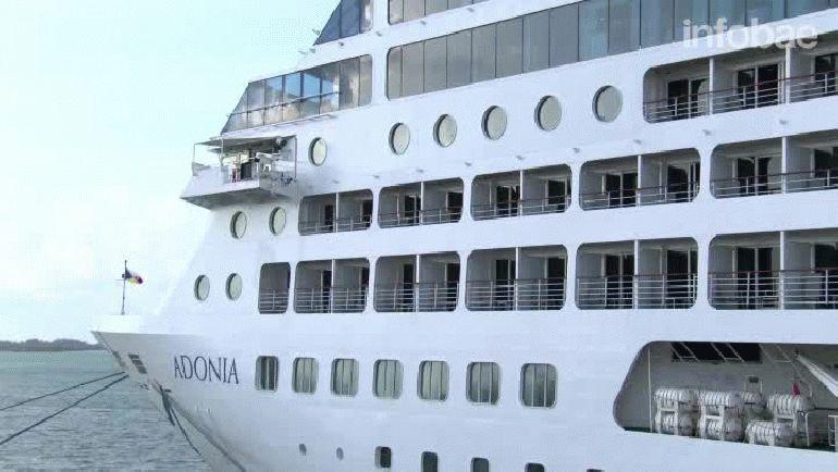 Así se preparaba el barco Adonia para realizar el histórico viaje de Estados Unidos a Cuba