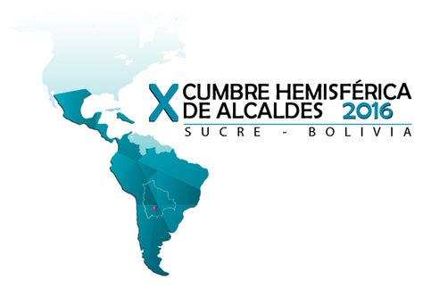 Logo de la X Cumbre Hemisférica de Alcaldes