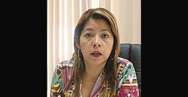 Miriam Rossel,  presidenta                     del Tribunal de Justicia