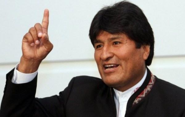 """Morales responde a Insulza: """"Somos un pueblo pacifista, respetamos la vida. No habrá guerra"""""""