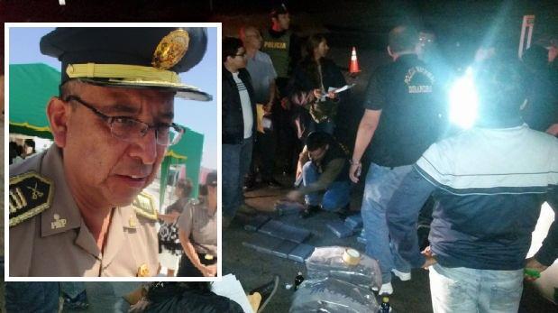 Comisario de Nuevo Chimbote cae con 119 kilos de droga en Casma