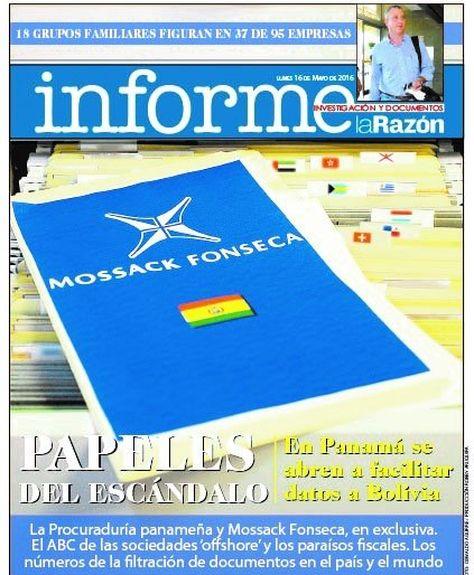 Informe La Razón, 16 de mayo de 2016
