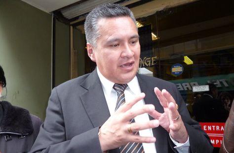El abogado Eduardo León