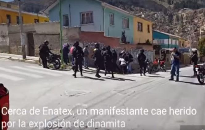 Heridos en marcha de fabriles reabre el debate sobre el uso de dinamita en movilizaciones