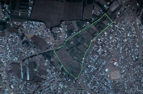 La toma muestra el lugar donde se construirá la Villa Sudamericana