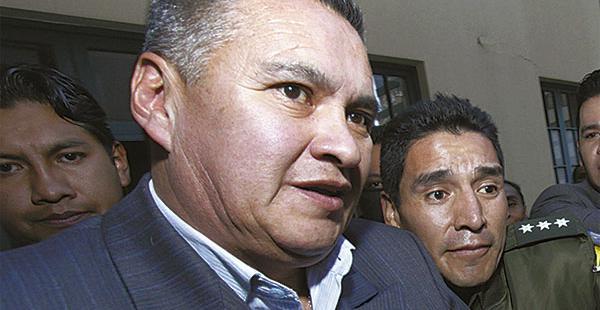 Eduardo León está detenido