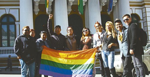 Los colectivos de gays, lesbianas, bisexuales y transexuales celebraron el proyecto de ley