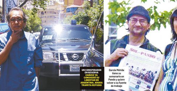 García Mérida tiene su semanario en Pando y quiere volver a su fuente de trabajo