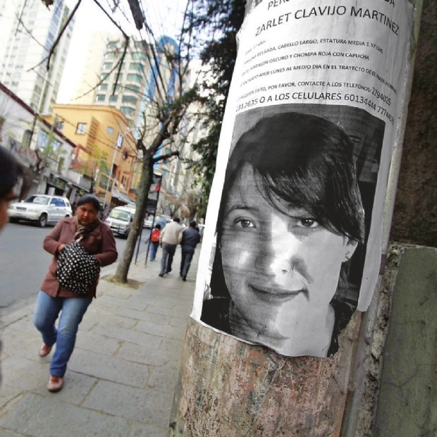 Por extorsiones, la mamá de Zarlet depositó 3.000 dólares