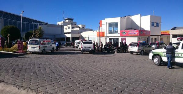 El hecho se registró a primeras horas de esta mañana, según el reporte de la presidenta de la Aduana Nacional.