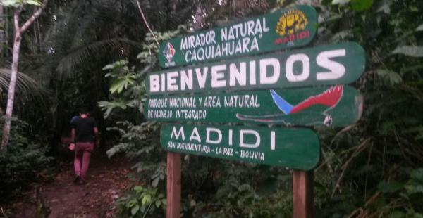 Rurrenabaque es la puerta de ingreso al Parque Nacional Madidi donde conviven más de 3.500 especies