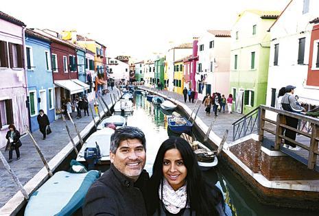La isla de Murano, en Italia y sus coloridas viviendas