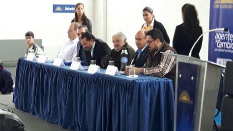 El expresidente Mujica en Santa Cruz