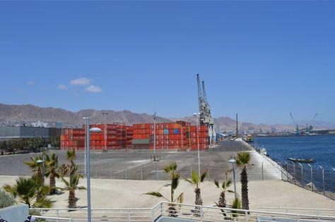 Puerto Chileno de Antofagasta. Foto: La Razón