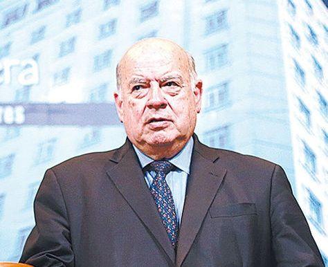 José Miguel Insulza, agente chileno ante La Haya por la demanda marítima interpuesta por Bolivia