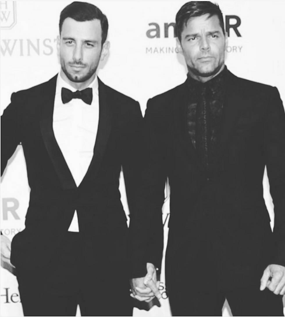 Ricky Martin convierte su Instagram en un foro gay, y arrecian las discusiones
