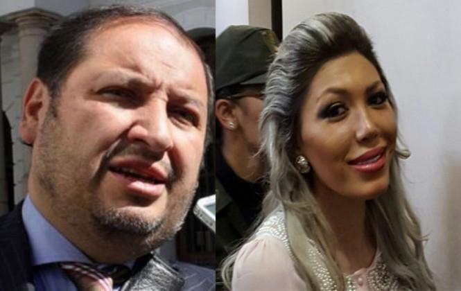 """León señala que abogado Zuleta """"ha sido el amante"""" de Gabriela Zapata"""