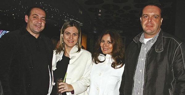 Michel Molinari, Flavia De Lena, Claudia de Issa y Juan Issa asistieron en pareja al lugar