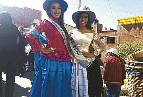 Katherine Añasgo y Soraya Salinas (Tarija y Beni)