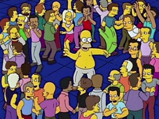 Homer podía ser tonto, pero incluso él lo comprendió.