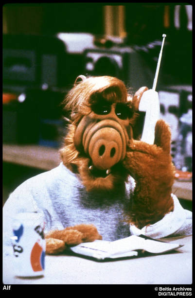 Alf. Personaje de cine y television. Muûeco. Cinema and television figure. Dummy. ¬Beitia Archives DIGITAL PRESS 01/01/98
