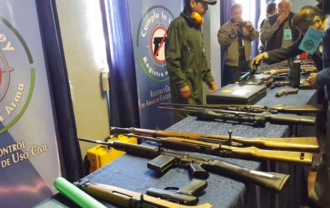 Habilitaran 35 puntos en provincias para registro de armas de fuego