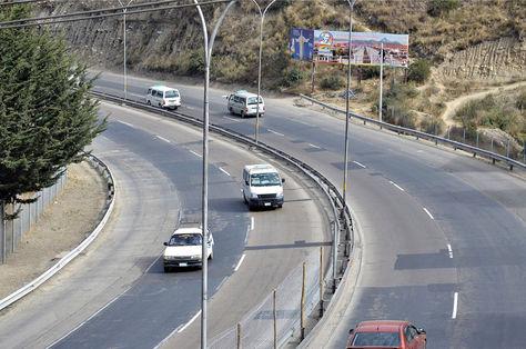 Curva del plan autopista