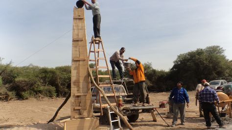 Construyen hito trifinio Bolivia, Argentina y Paraguay en aniversario de la Paz del Chaco