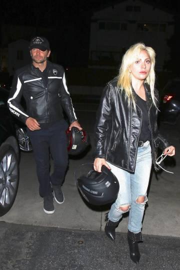 Bradley Cooper y Lady Gaga, el pasado abril en Santa Mónica, California.