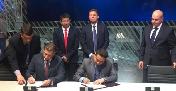 Este importante convenio fue suscrito durante el desarrollo del Foro Económico Internacional de San Petersburgo 2016