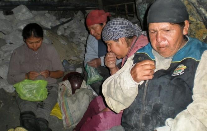 Mujeres bajo tierra, una realidad poco conocida en Oruro