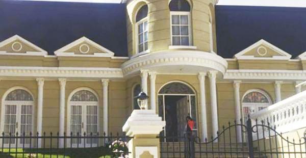 Esta es la casa tomada en anticrético por Zapata