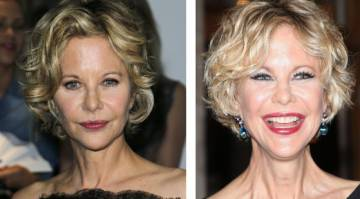 Una de las últimas transformaciones de la actriz.