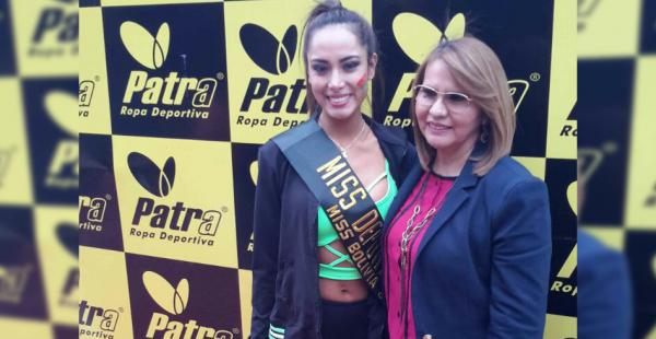 La Miss Tarija, Katherine Añazgo es la miss deporte Patra