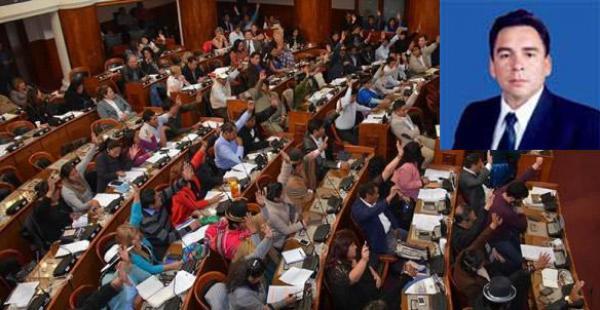La sesión del Legislativo se prolongó por más de cinco horas, entre el debate sobre los méritos de los postulantes.