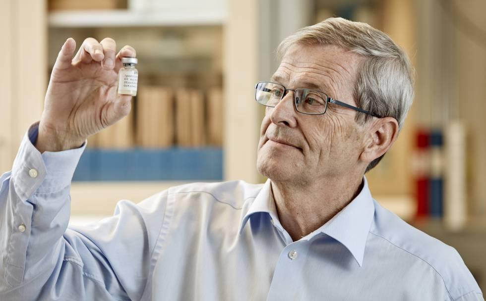 El investigador sueco Tore Curstedt que descubrió la sustancia para curar el síndrome de dificultad respiratoria en bebés prematuros.