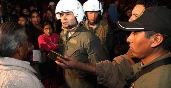 Carlos Moreira, controló desde el aire las fogatas en San Juan. Está al frente de una repartición edil compleja