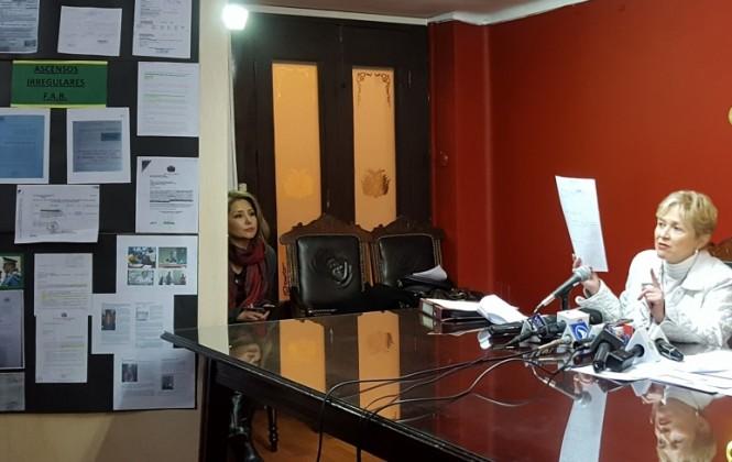"""Diputada Sandoval denuncia a la Fuerza Aérea Boliviana por la compra """"irregular"""" de motores"""