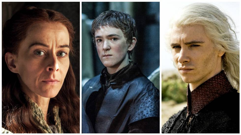 Lysa Arryn, Olly y Viserys Targaryen.