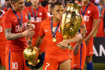 Chile gana la Copa América 2016