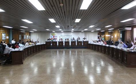 Una sesión pasada del Legislativo cruceño. Foto: www.santacruz.gob.bo