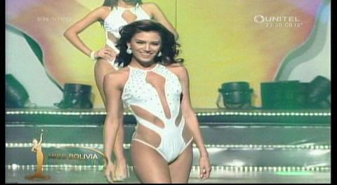 Miss Bolivia Universo 2016: Desfile en traje de baño