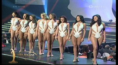 Las 8 finalistas del Miss Bolivia Universo 2016