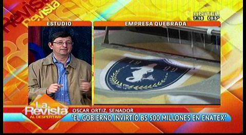 Senador Ortiz pide informes al Gobierno sobre la creación y administración de Enatex