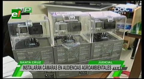Tribunal Agroambiental instalará cámaras en juzgados